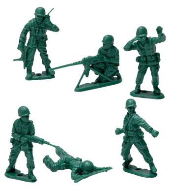 Green Army Men - 40Pcs. Bag picture