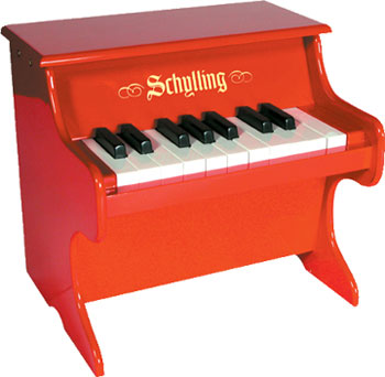 Mini Red Piano picture