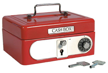 Locking Cash Box picture