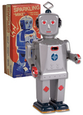 Sparkling Mike Robot