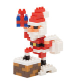 Santa Claus On The Chimney