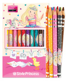 My Style Princess Colored Pencil Set