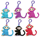 Fingerlings Clip On Plush