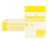 Strawbees Straws Yellow