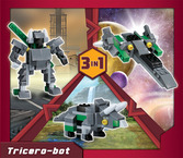 Terablock 3 in 1 Tricero-bot