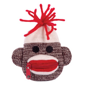 Sock Monkey Coin Purse