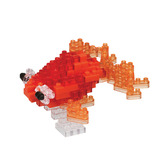 Popeyed Goldfish Red