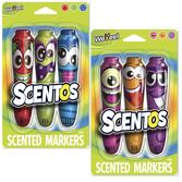 Scented Jumbo Markers - 3pk