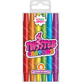 Color Spot Twister Crayons