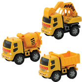 Friction Construction Vehicles