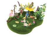 Flower Faires Moss Landscape