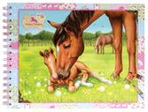 Horses Dreams Coloring Book