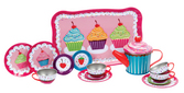 CUPCAKE TIN TEA SET