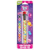 Scented Sugar Rush - 10 Color Rainbow Pen
