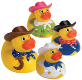 Rubber Duckies Cowboys Assted.
