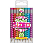 Color Spot Pocket Sized Mini Pencils