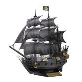 Paper Nano Black Pirate Ship