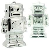 Metallic Robot Bank