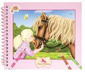 Horses Dreams Pocket Coloring Book