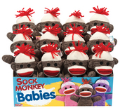 Sock Monkey Baby - Brown