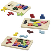 Wooden Brain Puzzles