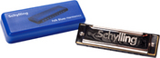 Blues Harmonica In Plastic Cas