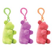 Gummy Bear Plush Clip On