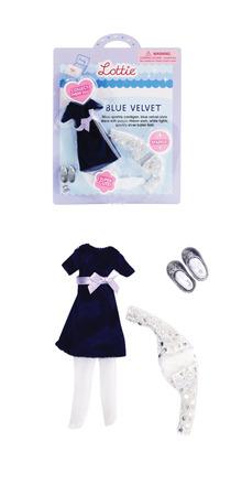 Lottie Blue Velvet Outfit picture