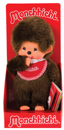 Monchhichi Boy - Red Bib picture