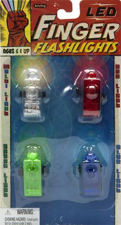 Led Finger Flashlights picture