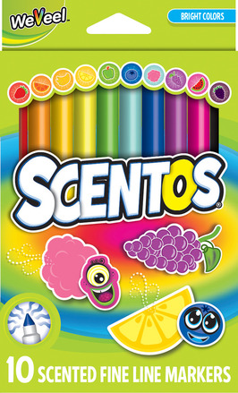 Scented Fine Line Markers - 10pk picture