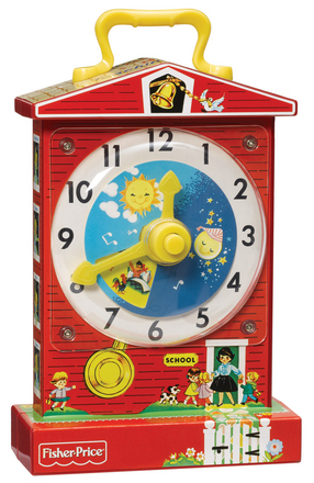 Fisher Price Teaching Clock picture