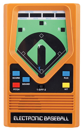 Electronic Baseball Hand Held Game picture