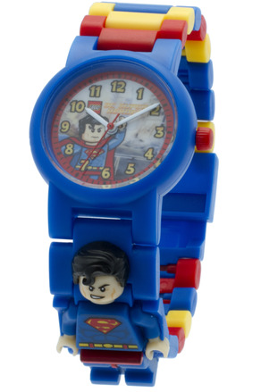 LEGO Super Heroes DC Universe Superman Minifigure Link Watch picture