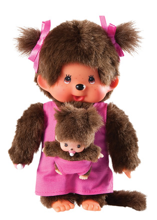Monchhichi Mother Care with Baby Pink picture