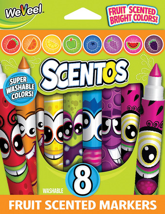 Fruit Scented Markers - 8pk picture