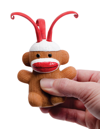 CURLY POP SOCK MONKEY picture