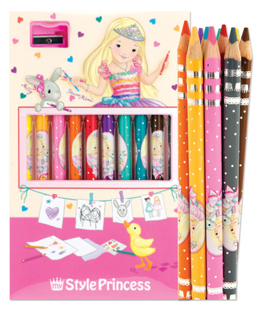 My Style Princess Colored Pencil Set picture