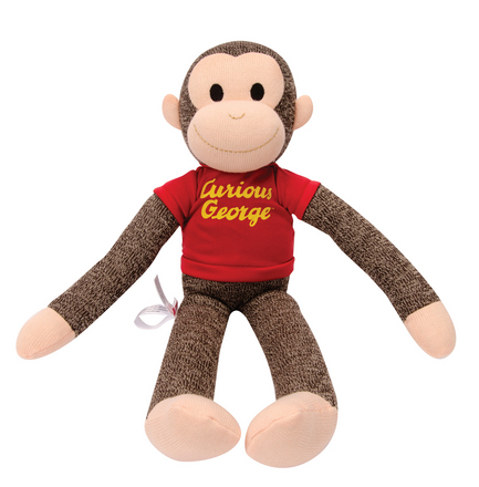 Curious George Sock Monkey picture
