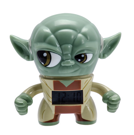 Yoda mini Bulb Botz Clock picture