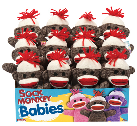 Sock Monkey Baby - Brown picture