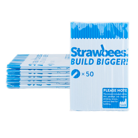 Strawbees Straws Blue picture