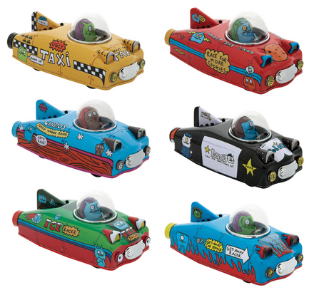 Uglydoll Tin Racers picture