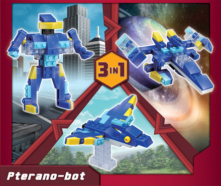 Terablock 3 in 1 Pterano-bot picture