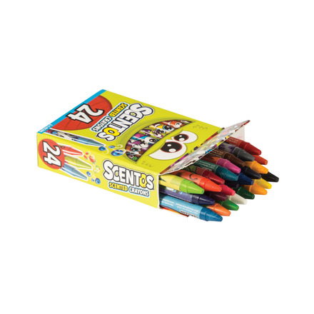 Scentos Crayons - 24 Pack picture