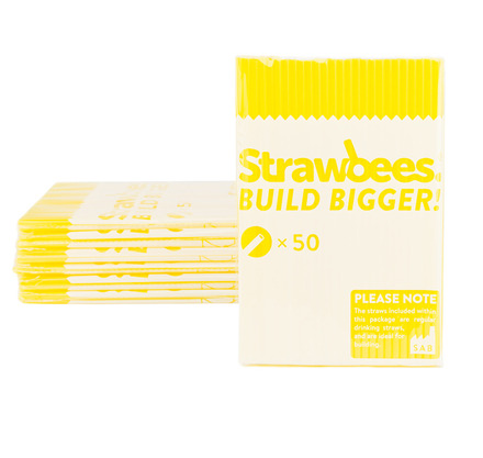 Strawbees Straws Yellow picture