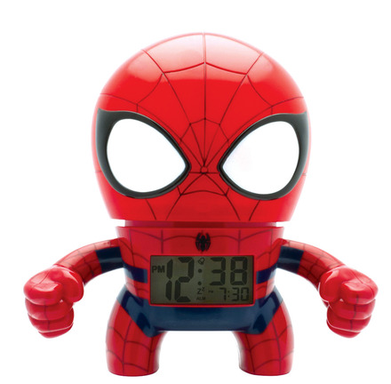 Spider-Man 7.5 Bulb Botz Clock picture