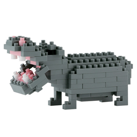 Nanoblock Hippopotamus picture