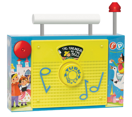 Fisher Price Tv Radio picture