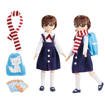 Lottie Back to School outfit picture